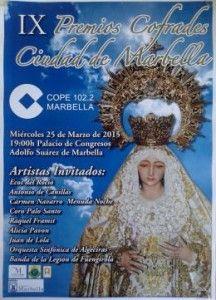 """En el IX Premios Cofrades Ciudad de Marbella, es un honor anunciar a nuestra fundadora Maria Bravo como merecedora del Galardón """"Premio Cofrade """"Solidaridad"""" que tendrá lugar hoy 25 de marzo, en el Palacio de Ferias y Congresos de Marbella."""