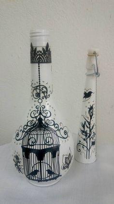 Ασπρο !!! Μαυρο !!! Το κλουβι του σπιτιου μας!!