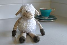 Ravelry: Project Gallery for Sheldon the Sheep pattern by Curly Girl Coop