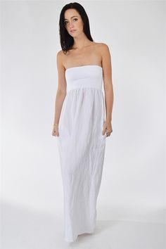 Capri Dress- White at Blush Boutique : The latest trends in women's clothing & accessories