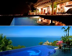 Casa Quetzal is located on the hillside in upper Conchas Chinas overlooking Banderas Bay.