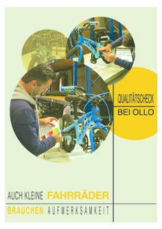 Qualitätscheck bei OLLO - Auch kleine Fahrräder brauchen Aufmerksamkeit ;)  #ollobikes #hamburg #kidsonbikes