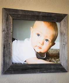 Loving this Natural Barnwood Frame on #zulily! #zulilyfinds