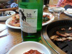 오늘같은 날,, 삽겹살에 부드러운 '처음처럼' ~ 딱이예용^^*   소주, soju, 처음처럼, 한국 술, korean drink, 알칼리 환원수로 만든 깨끗한 술♥