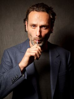 "Andrew Lincoln of ""The Walking Dead"""