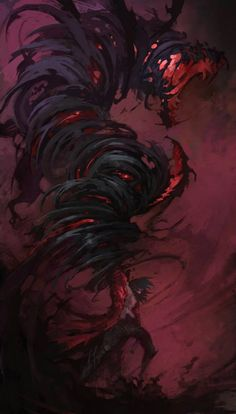 Castlevania: Lords of Shadow 2 - Gabriel/Dracula's Dragon (artwork) Monster Art, Monster Concept Art, Fantasy Monster, Shadow Monster, Fantasy Character Design, Character Design Inspiration, Character Art, Dark Fantasy Art, Fantasy Artwork