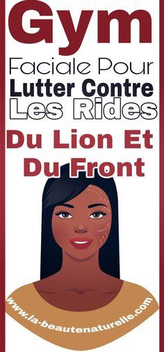 Gym faciale pour lutter contre les rides du lion et du front #rides #lion #front