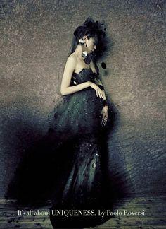 IMG 0920 Vogue Itália Setembro 2014 | Ola Rudnicka, Issa Lish + Mais por Mario Sorrenti  [Couture]