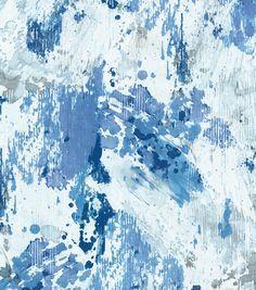 P/Kaufmann Upholstery Fabric-Abstract Azure