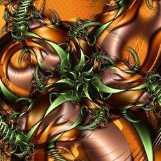 30 Stunning Fractal Designs and Illustration