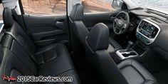 2015 Chevy Colorado interior