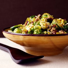 Brussels Sprouts with Chestnuts Recipe | Weight Watchers