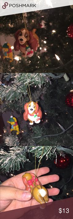 lady and the tramp disney groiler ornament
