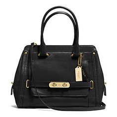Coach Swagger Calf Leather Frame Satchel | Hudson's Bay