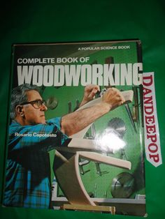 The Complete Book Of Woodworking 1975 Popular Science Book