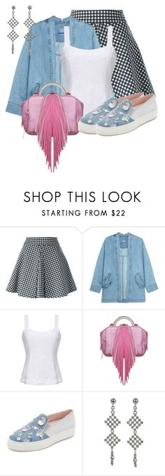 """Untitled #1222"" by lchar ❤ liked on Polyvore featuring Dondup, Steve J & Yoni P, The Volon, Minna Parikka and NOVICA"