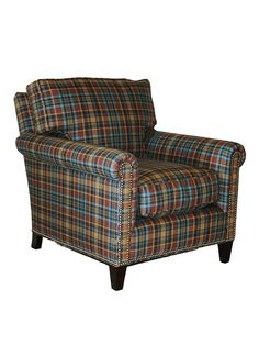 Merveilleux Not A Bad Plaid Chair