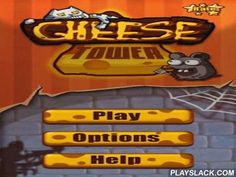 Cheese Tower  Android Game - playslack.com , Cheese Tower - a quite acceptable problem made on physics with bewitching graphics, handy control system and beautiful sound effects. support Jimmy's feline to rescue cheese from mice. Clear all achromatic blocks (mice) from the table, having left thus as many cubes of cheese as accomplishable. In the game there are four levels with increasing level of effort. Each level consists 25 levels, each of which can transport three scores maximum.
