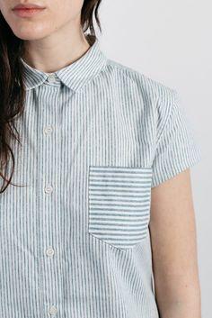 Tayler Vintage Stripe Shirt Dress – Bridge & Burn