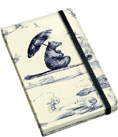Roger La Borde Notebook A6 met harde kaft en elastiek - Petit Sauvage