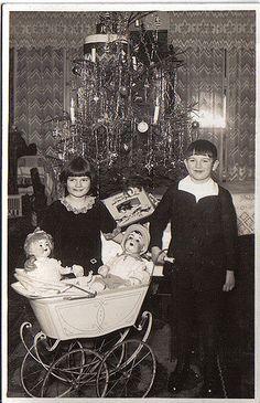 Weihnachten 1928 in Berlin / Deutschland Christmas