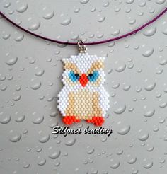 Silfoxes Beading: gufetto porta fortuna