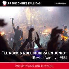 El rock & roll morirá en junio (de 1955)... ¡Uy, casi!