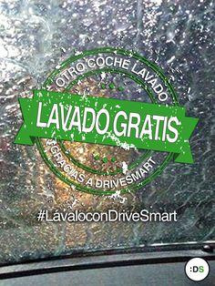 ¡2 lavados de coche de regalo para otro buen conductor! #LávaloconDriveSmart