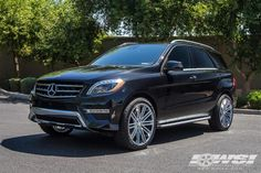 """2015 Mercedes-Benz GLE/ML-Class with 22"""" Heavy Hitters Wheels by Wheel Specialists, Inc. in Tempe AZ . Click to view more photos and mod info."""
