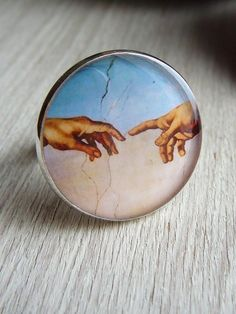 """Ring """"Creation by Michelangelo"""""""