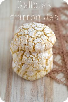 Bocados Divinos ♥: Galletas marroquíes (de almendras)