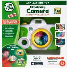 LeapFrog - Creativity Camera Case and App for Select Apple Devices #LeapFrogforApple