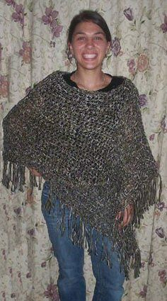 Ravelry: Customizable Crochet Poncho pattern by Patti Gonsalves