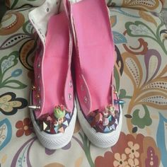 Shoes - New Converse candy charm spike sneakers