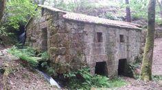 Paisaje ruta de los molinos de Carballeda de Avia