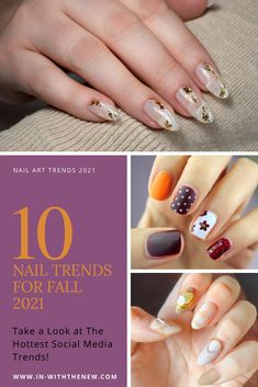 Wondering what nail polish trends are in for fall 2021? We rounded up the most chic and trendy shades for this fall! #Nails #GelNails #NailArt #GelNailDesign #fallnails #fallcolors #autumnnails #fallnaildesigns #fallnails #nailinspo #mynails #nailart #nailsoftheday #nailartwow #gelpolish #nailslover #beautyjunkies #beautytrends #beautylovers #beautytalk #beautynewsfamily #fallmakeup #byrdie #ManiMonday #nailsinfluencer Fall Nail Trends, Nail Polish Trends, Gel Polish, Autumn Nails, Top Nail, Fall Nail Designs, Fall Makeup, Gorgeous Nails, Beauty Trends