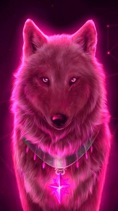 Red wolf Wallpaper by georgekev - - Free on ZEDGE™ now. Browse millions of popular animal Wallpapers and Ringtones on Zedge and personalize your phone to suit you. Browse our content now and free your phone Tier Wallpaper, Wolf Wallpaper, Neon Wallpaper, Cute Wallpaper Backgrounds, Animal Wallpaper, Phone Wallpapers, Anime Wolf, Dark Fantasy Art, Fantasy Wolf