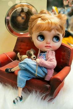 Blythe Dolls For Sale, Ooak Dolls, Pretty Dolls, Beautiful Dolls, Kawaii Doll, Little Doll, Hello Dolly, Custom Dolls, Doll Face