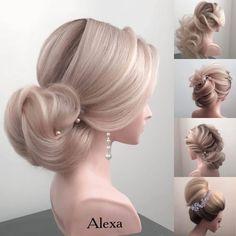 Fotogalerie svatebních účesů pro nevěsty. Svatební účesy pro blondýnky, tmavovlásky. Účesy polodlouhé vlasy, dlouhé vlasy, krátké vlasy, rozpuštěné vlasy. Praha, Pearl Earrings, Fashion, Pearl Studs, Moda, La Mode, Fasion, Beaded Earrings, Fashion Models