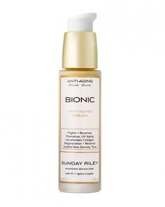 Sunday Riley - Bionic Anti-Aging Cream - Very effective cream. Can be used alone or with any of the Sunday Riley face oils.