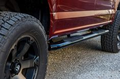 A truck or SUV is one of the most useful automobiles, Installing truck side steps on the sides makes it easier for people to get in or out of the vehicles. Bed Steps, Truck Bed, Cool Trucks, Aluminium Alloy, Automobile, Monster Trucks, Top, Car, Autos