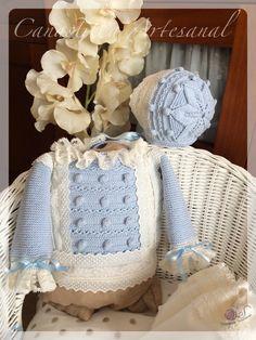 Very cute baby set with little Crochet Girls, Crochet For Kids, Crochet Baby, Very Cute Baby, Baby Love, Baby Set, Knitting Wool, Baby Knitting, Baby Barn