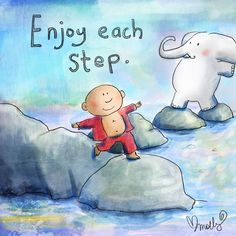 Today's Doodle: each step