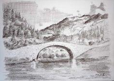 dibujos a lapiz de paisajes (9)