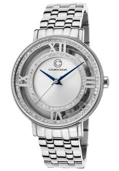 Cabochon Carnaval SS Silver-Tone Dial SSCabochon 80288-02S Watch