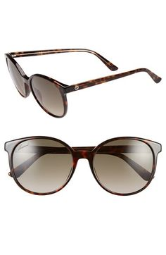 Gucci+55mm+Retro+Sunglasses+available+at+#Nordstrom