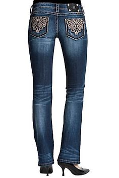 We were PINNED! Miss Me Cypress Paisley jeans!