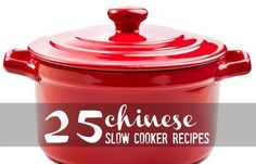 There's just something about making one of these 25 Chinese Slow Cooker Recipes...maybe tonight!