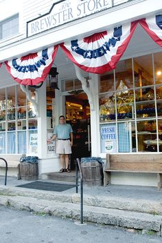 The Brewster Store: Brewster, Massachussetts, since 1866 (used to house a church in 1850.)