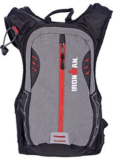 IRONMAN 2L Reflective Print Water Bladder All Sport Hydration Pack Outdoor Store [gallery]  IRONMAN Hydration Bag has the whole thing you want in your out of doors and indoor adventures. This Light-weight bag features an interior pocket with straps, water bladder, adjustable chest straps, whistle buckle, and reflective screen print to stay you secure. Identical to its' name, Ironman, this small compact bag is available in a robust durable 420d polyester…